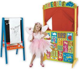 tableau janod - theatre et deguisement enfant